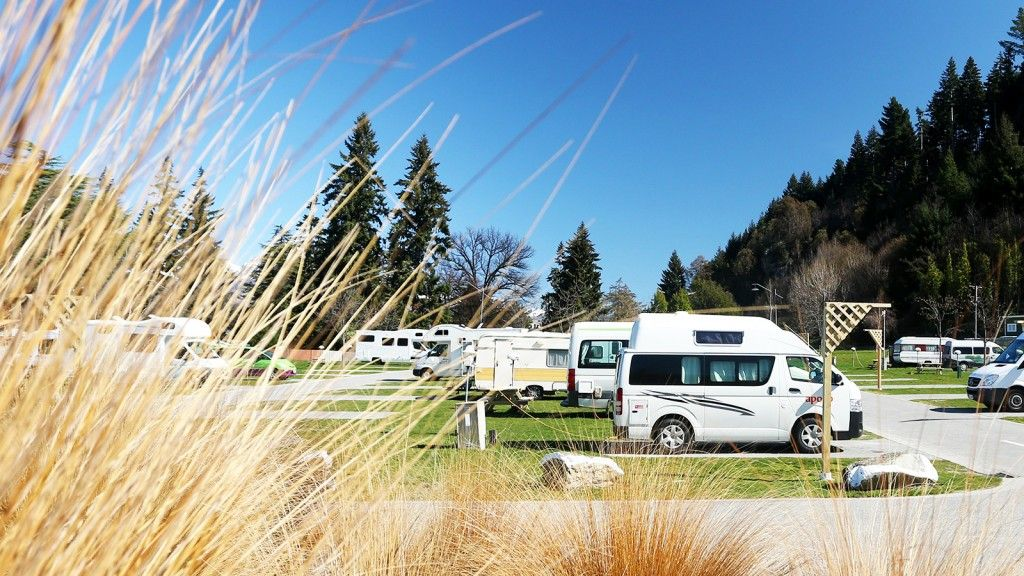 Powered camping sites